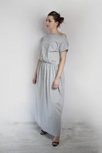 619a9510a2 sukienka dresowa maxi - stylowo i modnie z Allani
