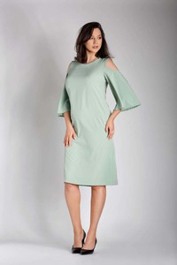 Zielona sukienka Nommo