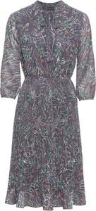 Sukienka bonprix BODYFLIRT midi w stylu casual z okrągłym dekoltem