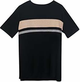 Czarny t-shirt State Fusio z bawełny