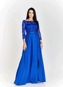 Niebieska sukienka Bosca Fashion