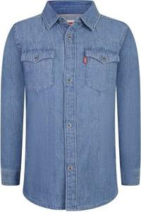 Niebieska koszula dziecięca Levis dla chłopców