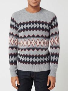 Sweter Selected Homme z okrągłym dekoltem