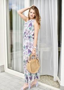 Sukienka Fason z bawełny maxi