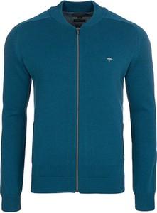 Niebieski sweter Fynch Hatton w stylu casual z bawełny