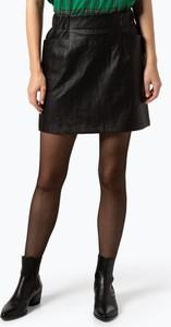 Czarna spódnica NA-KD w rockowym stylu mini