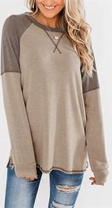 Bluzka Sandbella z długim rękawem z dresówki