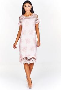 Sukienka Fokus z krótkim rękawem mini