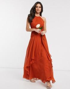 Sukienka Asos Design bez rękawów maxi gorsetowa