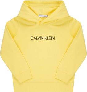 Żółta bluza dziecięca Calvin Klein