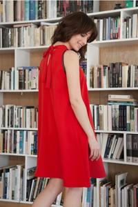 Czerwona sukienka butik-choice.pl