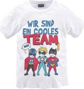 Koszulka dziecięca kidsworld z krótkim rękawem z dżerseju