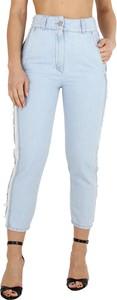 Niebieskie jeansy Tela w stylu casual