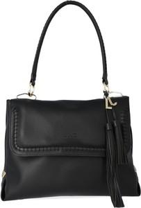 1929a020cbcb2 Czarna torebka Liu-Jo średnia na ramię w stylu casual