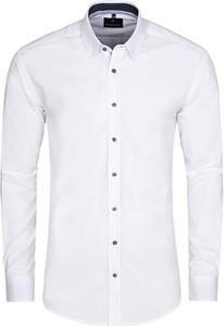 Koszula Di Selentino ze stójką z tkaniny