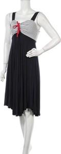 Czarna sukienka Blu bez rękawów