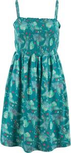 Błękitna sukienka bonprix bpc bonprix collection midi