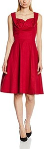 Czerwona sukienka lindy bop