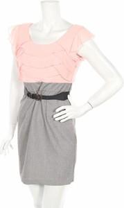 Sukienka Bcx mini z krótkim rękawem z okrągłym dekoltem