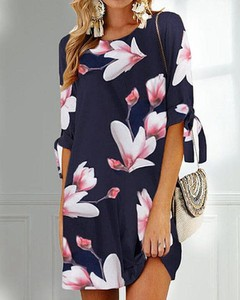 Sukienka Kendallme z długim rękawem w stylu casual