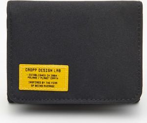 Czarny portfel męski Cropp