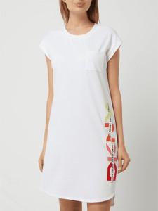 Sukienka DKNY mini z okrągłym dekoltem