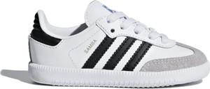 Trampki dziecięce Adidas z zamszu sznurowane
