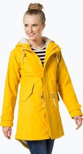 Żółta kurtka Derbe długa