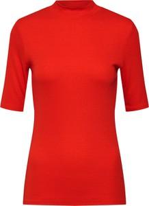 Czerwona bluzka ModstrÖm z długim rękawem w stylu casual