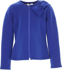 Niebieska kurtka dziecięca Monnalisa