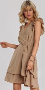 Sukienka Renee w stylu casual rozkloszowana mini
