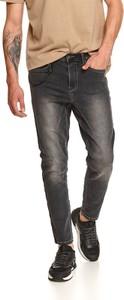 Czarne jeansy Top Secret w stylu casual