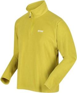 Żółta bluza Regatta z polaru