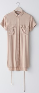Sukienka Sinsay z krótkim rękawem koszulowa w stylu casual