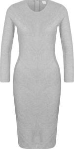 Sukienka Hugo Boss z długim rękawem