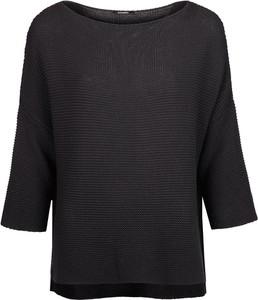 "Czarny sweter Sugarbird Sweter ""aroma"" z tkaniny"