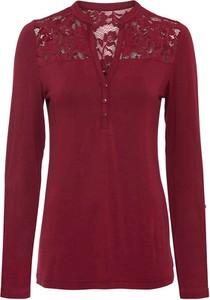 Czerwony t-shirt bonprix
