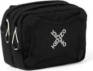 Czarna torba Kenzo ze skóry
