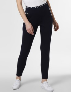 Spodnie sportowe Lacoste w sportowym stylu z dresówki