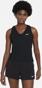 Top Nike w sportowym stylu z okrągłym dekoltem