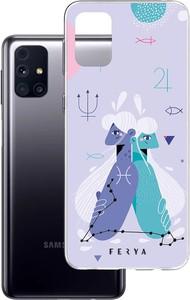Etui amortyzujące uderzenia do Samsung Galaxy M31s, z unikatową grafiką 3D ferya RYBY