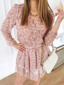 Sukienka Perfe.pl z długim rękawem