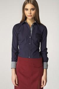 Granatowa koszula Nife
