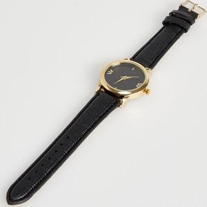 Sinsay - Zegarek z kocim motywem - Czarny