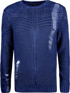 "Sweter Diesel Sweter ""k-cage"" z dzianiny"