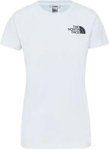 T-shirt The North Face z krótkim rękawem z okrągłym dekoltem w sportowym stylu