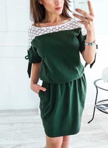 Sukienka Sandbella mini z dresówki