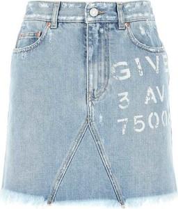 Niebieska spódnica Givenchy mini w stylu casual