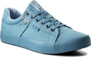 Tenisówki big star - aa174095 blue