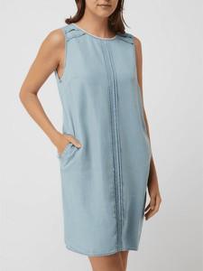 Niebieska sukienka Broadway Nyc mini prosta